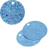 Sequins Hologram 40mm 4mm Hole Round Blue